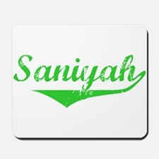 Saniyah Vintage (Green) Mousepad