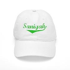 Saniyah Vintage (Green) Baseball Cap