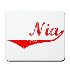 Nia Vintage (Red) Mousepad
