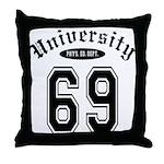University Throw Pillow