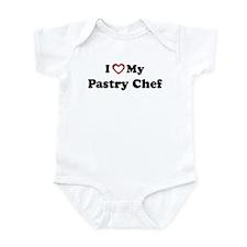 I Love My Pastry Chef Onesie