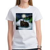 Tortoiseshell cat Women's T-Shirt