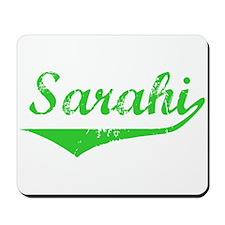 Sarahi Vintage (Green) Mousepad