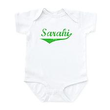 Sarahi Vintage (Green) Infant Bodysuit