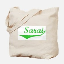 Sarai Vintage (Green) Tote Bag