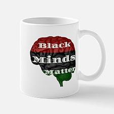 Black Minds Matter Mugs