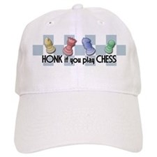 Honk If You Play Chess Baseball Cap