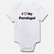 I Love My Paralegal Infant Bodysuit