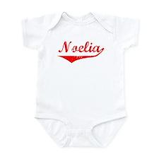 Noelia Vintage (Red) Infant Bodysuit