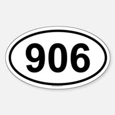 906 Oval Bumper Stickers