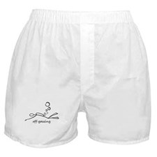 Off-Gassing Cartoon Scuba Diver Boxer Shorts