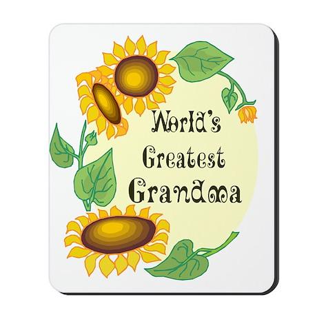 World's Greatest Grandma Mousepad