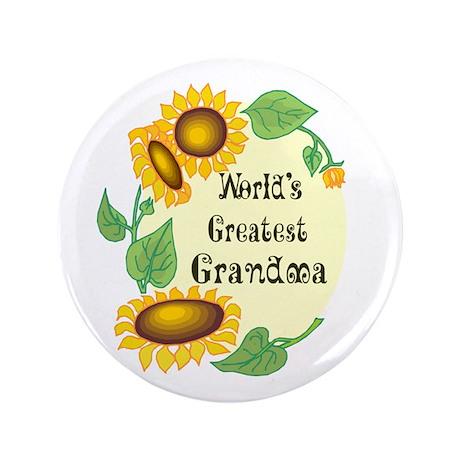 "World's Greatest Grandma 3.5"" Button"