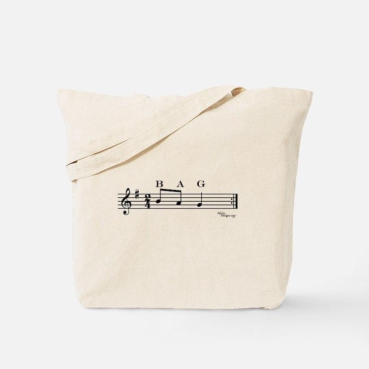 bag (treble clef) Tote Bag