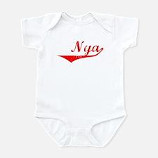 Nya Vintage (Red) Infant Bodysuit