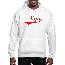 Nya Vintage (Red) Hoodie Sweatshirt