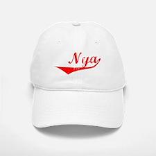 Nya Vintage (Red) Baseball Baseball Cap