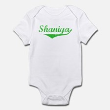 Shaniya Vintage (Green) Infant Bodysuit