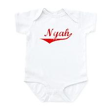 Nyah Vintage (Red) Infant Bodysuit