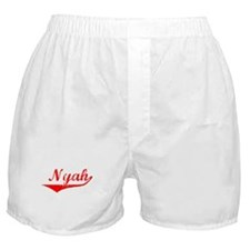 Nyah Vintage (Red) Boxer Shorts