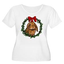 Christmas Rabbit T-Shirt