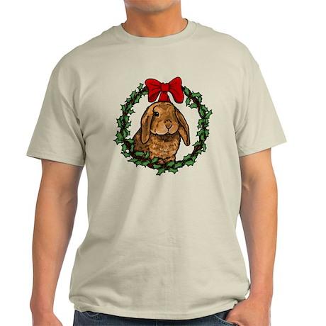 Christmas Rabbit Light T-Shirt