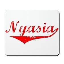 Nyasia Vintage (Red) Mousepad
