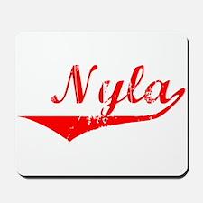 Nyla Vintage (Red) Mousepad