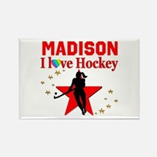FIELD HOCKEY Rectangle Magnet