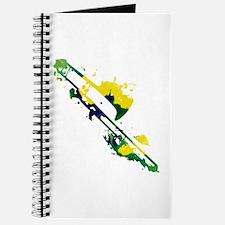 Paint Splat Trombone Journal