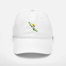 Paint Splat Trombone Baseball Baseball Cap