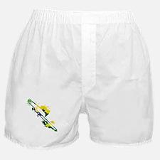 Paint Splat Trombone Boxer Shorts