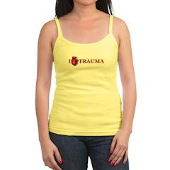 I (real heart) Trauma Jr.Spaghetti Strap