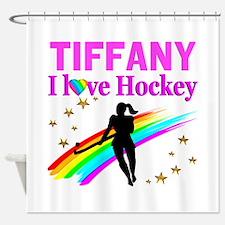 FIELD HOCKEY Shower Curtain