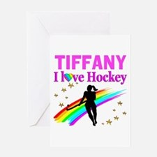 FIELD HOCKEY Greeting Card