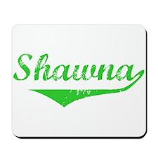 Shawna Vintage (Green) Mousepad