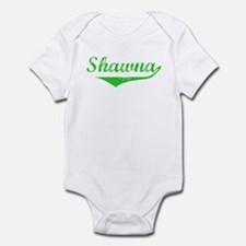 Shawna Vintage (Green) Infant Bodysuit
