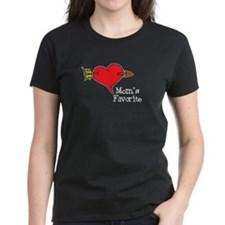 moms-favorite-black T-Shirt