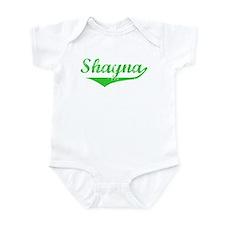 Shayna Vintage (Green) Infant Bodysuit