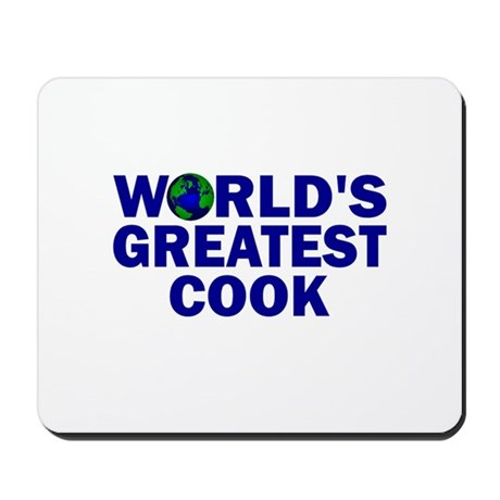 World's Greatest Cook Mousepad