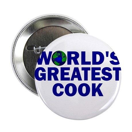 """World's Greatest Cook 2.25"""" Button (10 pack)"""