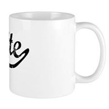 Suzette Vintage (Black) Mug