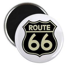 Retro Route 66 Magnet