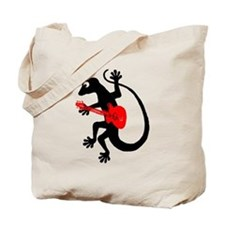Gecko Guitar Tote Bag