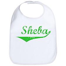 Sheba Vintage (Green) Bib