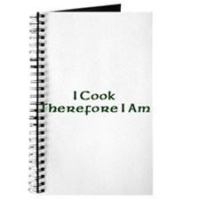 I Cook Therefore I Am Journal