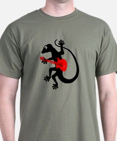 Gecko Guitar T-Shirt