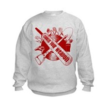 Choose your Weapon - Red Sweatshirt