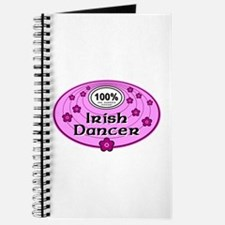 Pink 100% Irish Dancer Journal