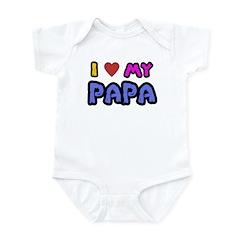 I Love My Papa Infant Creeper